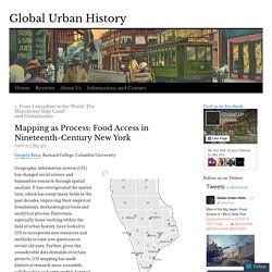 Mapping as Process: Food Access in Nineteenth-Century New York