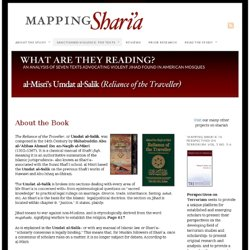 Umdat al-Salik (Reliance of the Traveller) | Mapping Shari'a