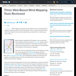 Three Web-Based Mind Mapping Tools Reviewed — Online Collaboration