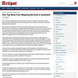Hire Top Most Farm Mapping Services In Australia!