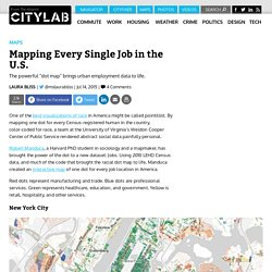Mapping Every Single Job in the United States