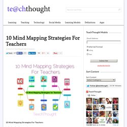 10 Mind Mapping Strategies For Teachers