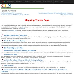 Mapping Theme Page