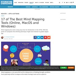 17 of The Best Mind Mapping Tools (Online, MacOS and Windows)