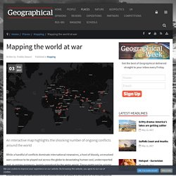 Mapping the world at war