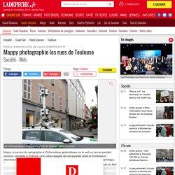 Mappy photographie les rues de Toulouse