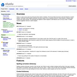 oluolu - Project Hosting on Google Code