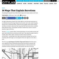16 Maps That Explain Barcelona