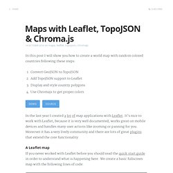 Maps with Leaflet, TopoJSON and Chroma.js