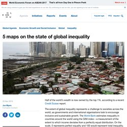 5 maps on the state of global inequality