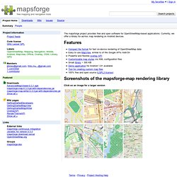 mapsforge - Project Hosting on Google Code