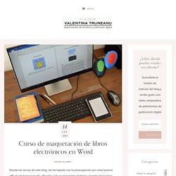 Curso de maquetación de libros electrónicos en Word
