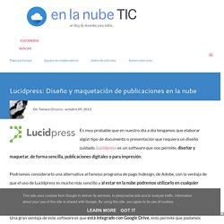 Lucidpress: Diseño y maquetación de publicaciones en la nube