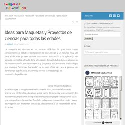 Ideas para Maquetas y Proyectos de ciencias para todas las edades – Imagenes Educativas