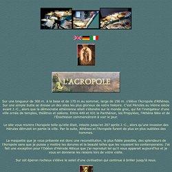 Maquette de l'Acropole