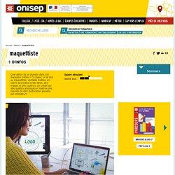 maquettiste - Onisep