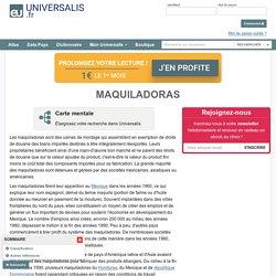 MAQUILADORAS