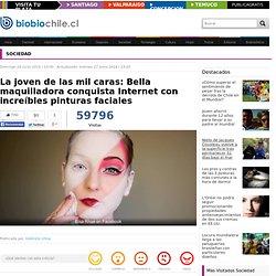 La joven de las mil caras: Bella maquilladora conquista Internet con increíbles pinturas faciales