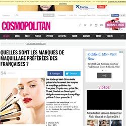 Quelles sont les marques de maquillage préférées des françaises