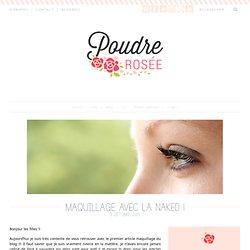 Maquillage rose-gris foncé