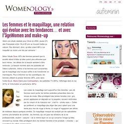 Les femmes et le maquillage, une relation qui évolue avec les tendances... et avec l'âgeWomen and make-up