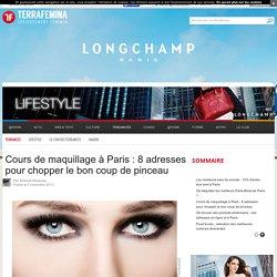 Cours de maquillage à Paris : 8 adresses pour chopper le bon coup de pinceau - Terrafemina