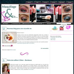 Maquillages & Co...