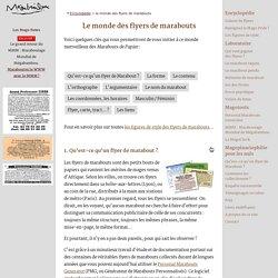 Marabouts de papier : le monde merveilleux des flyers de marabouts