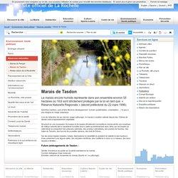 Marais de Tasdon