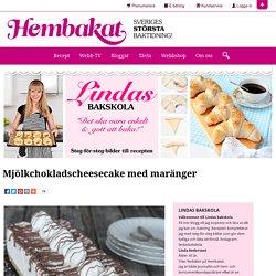 Mjölkchokladscheesecake med maränger