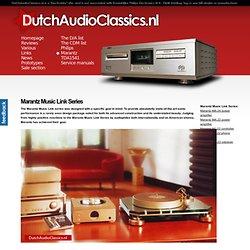 Marantz Music Link Series - DutchAudioClassics.nl