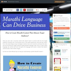 How to Marathi Translation Can Help to Capture Target Audience?