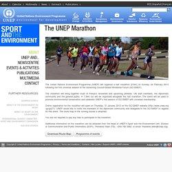 Theodore Oben - The UNEP Marathon, 24 February 2013