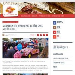 Marathon du Beaujolais, la fête sans modération !