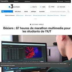 Béziers : 87 heures de marathon multimedia pour les étudiants de l'IUT