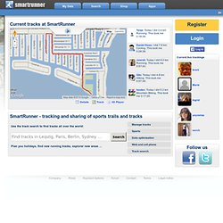 GPS Tracking für Sport und Freizeit - SmartRunner