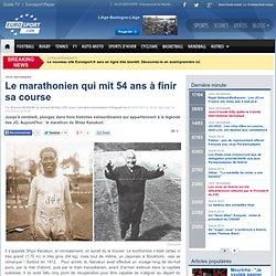 Le marathonien qui mit 54 ans à finir sa course - Jeux olympiques
