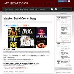 Maratón David Cronenberg