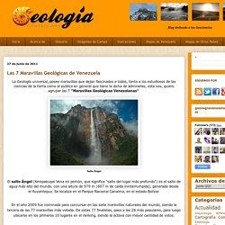 Las 7 Maravillas Geológicas de Venezuela