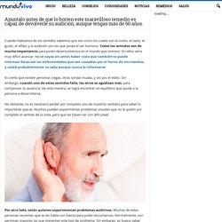 Apuntalo antes de que lo borren este maravilloso remedio es capaz de devolverle su audición, aunque tengas más de 60 años.