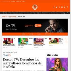 Doctor TV: Descubre los maravillosos beneficios de la sábila