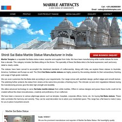 Sai Baba Marble Statue Maker, Suppliers in Jaipur, India