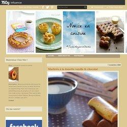 Marbrés à la danette vanille & chocolat