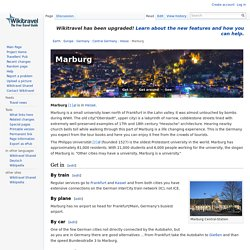 Marburg travel guide