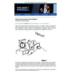 MARC ANDRÉ MOREL - À propos de Marc André
