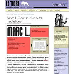 Marc L. Genèse d'un buzz médiatique