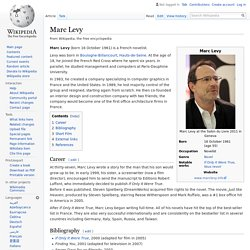 Marc Levy - Wikipedia