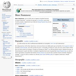 Marc Nammour