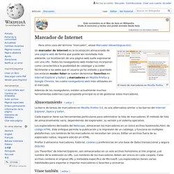 Marcador de Internet