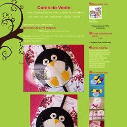 Marcador de Livro Pinguim - Cores do Vento